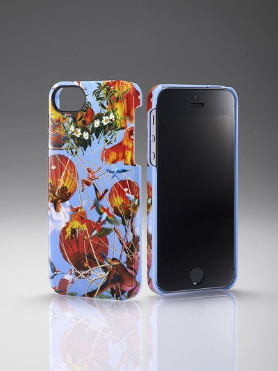 Flying Tiger Iphone Case Blue