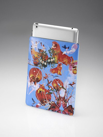Flying Toger Ipad Case Blue