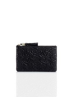 Cloud Quilted Leather Pouch