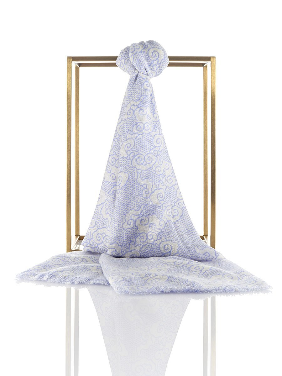 Cloud Cashmere Printed Shawl
