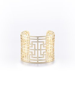 Lattice Blue Lapis Cuff