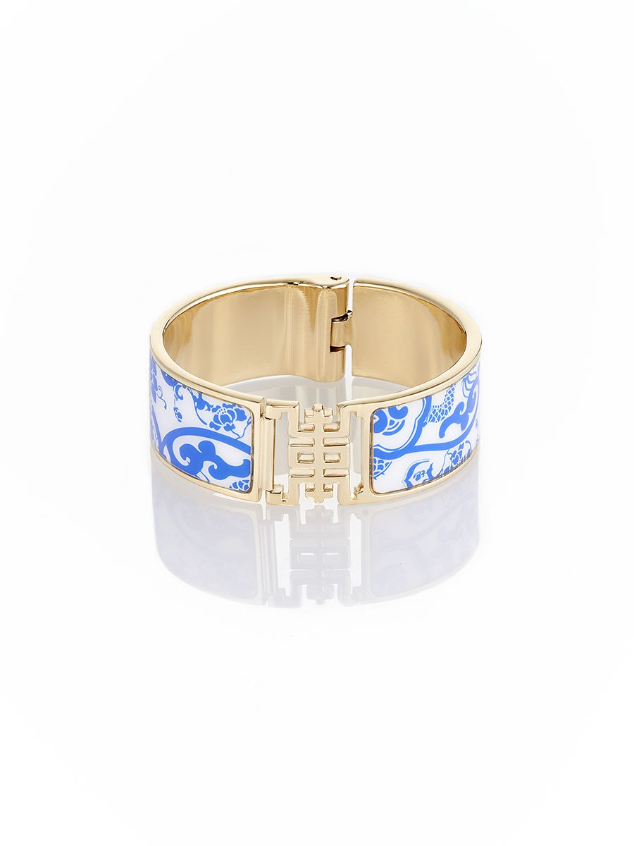 Porcelain Skull Shou Bangle