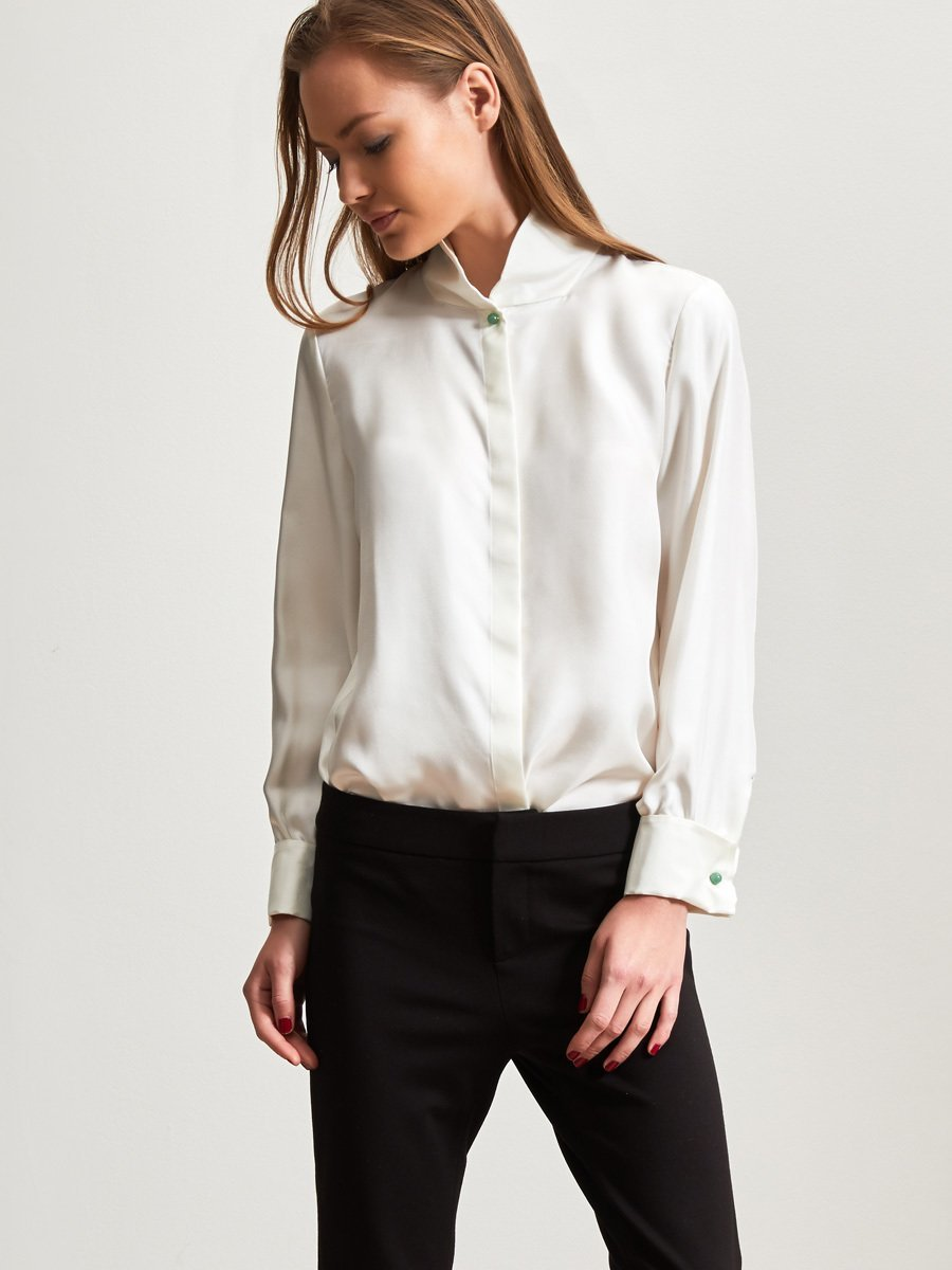 White Tops And Blouses