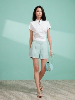 Cotton Embroidered Polo Shirt