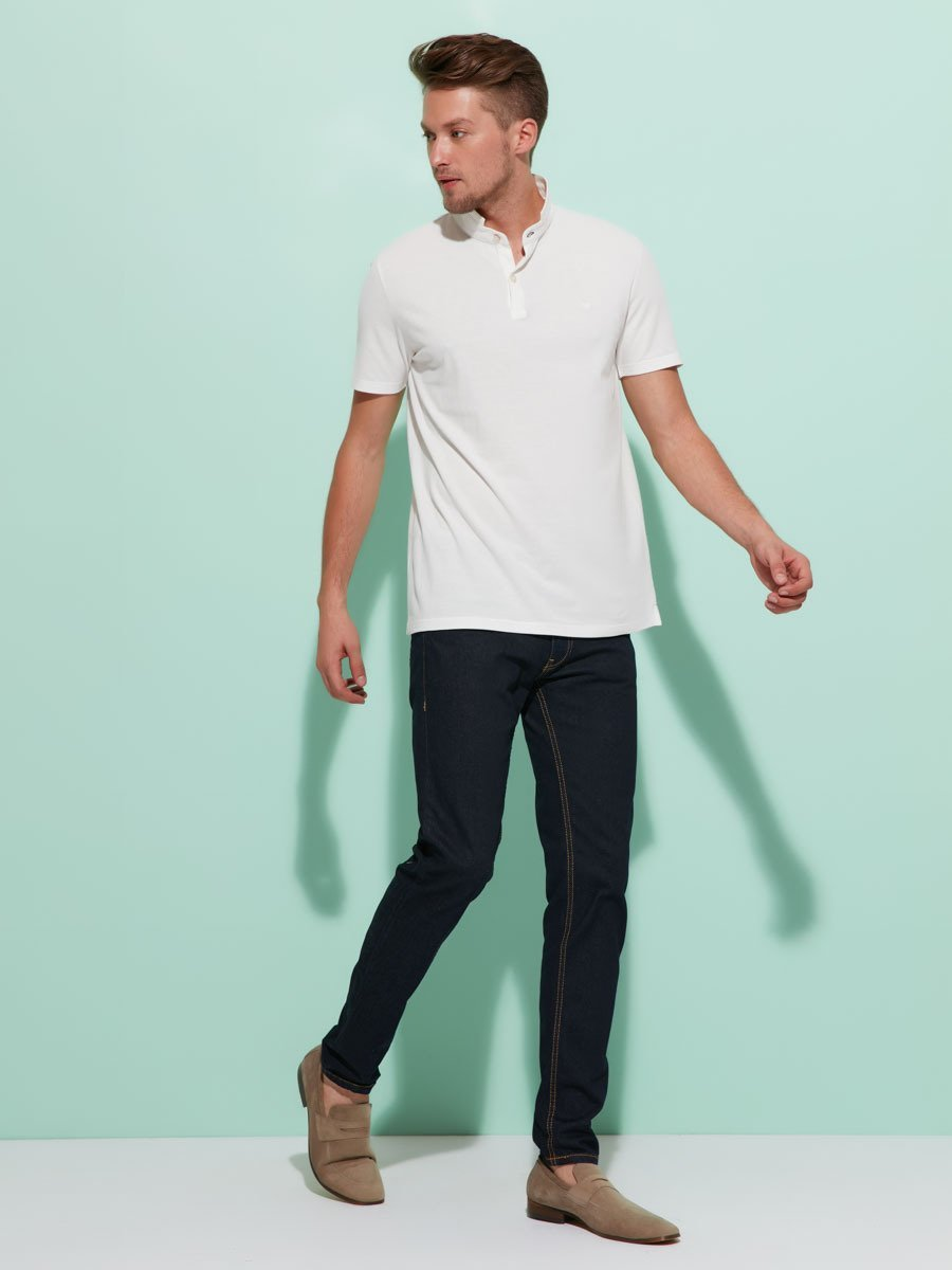 Mens Cotton Fine Piqué Polo