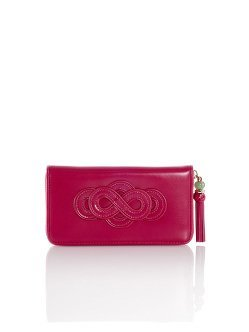 Eternity long zipped leather wallet