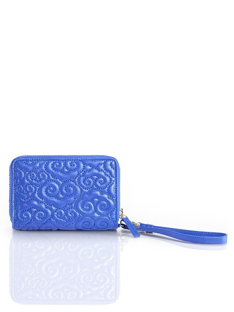Cloud Quilted Multifunction Wristlet