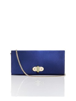 Twist Lock Silk Clutch