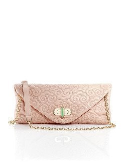 Cloud Quilted Clutch
