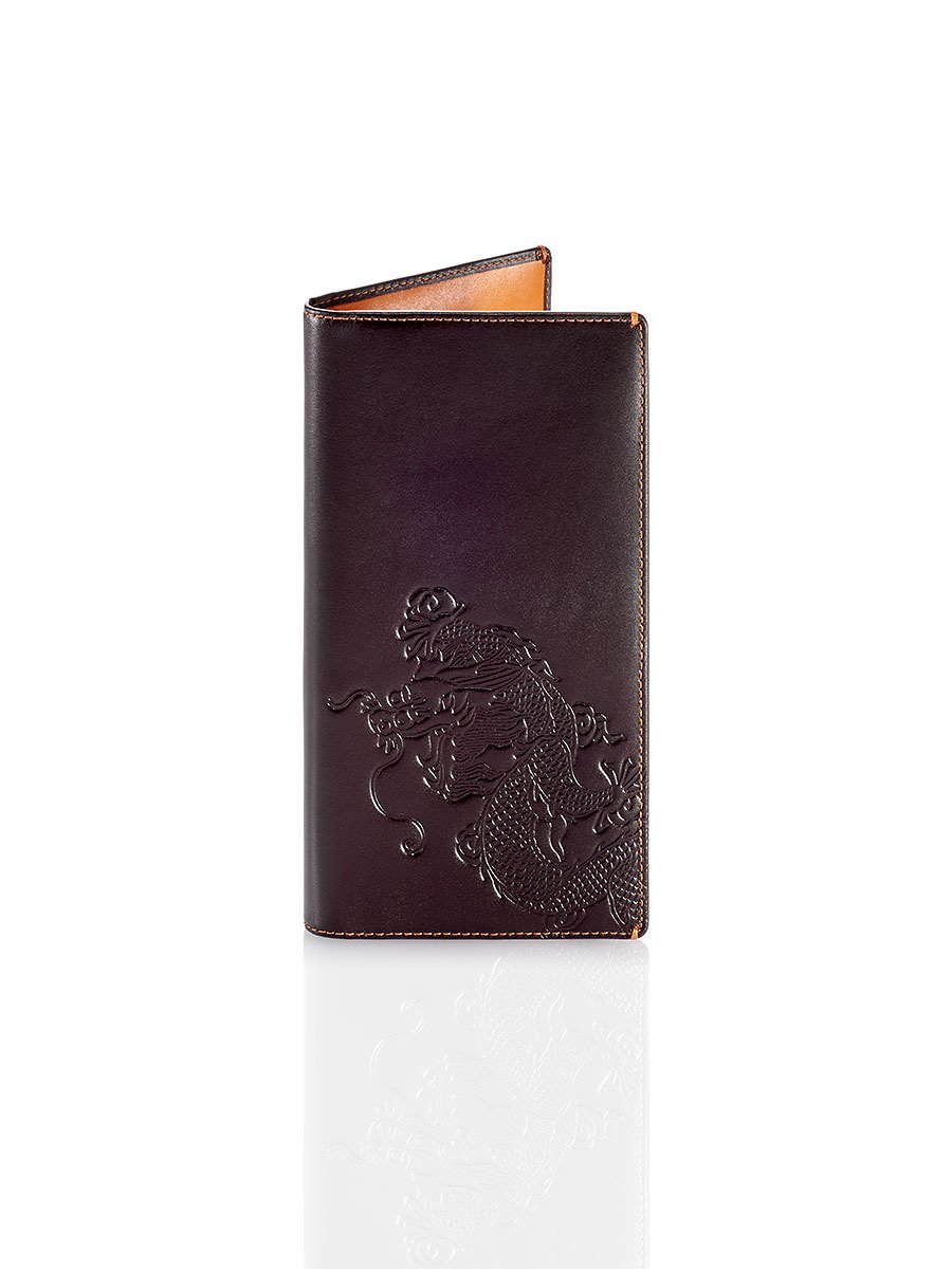 Dragon Leather Travel Wallet