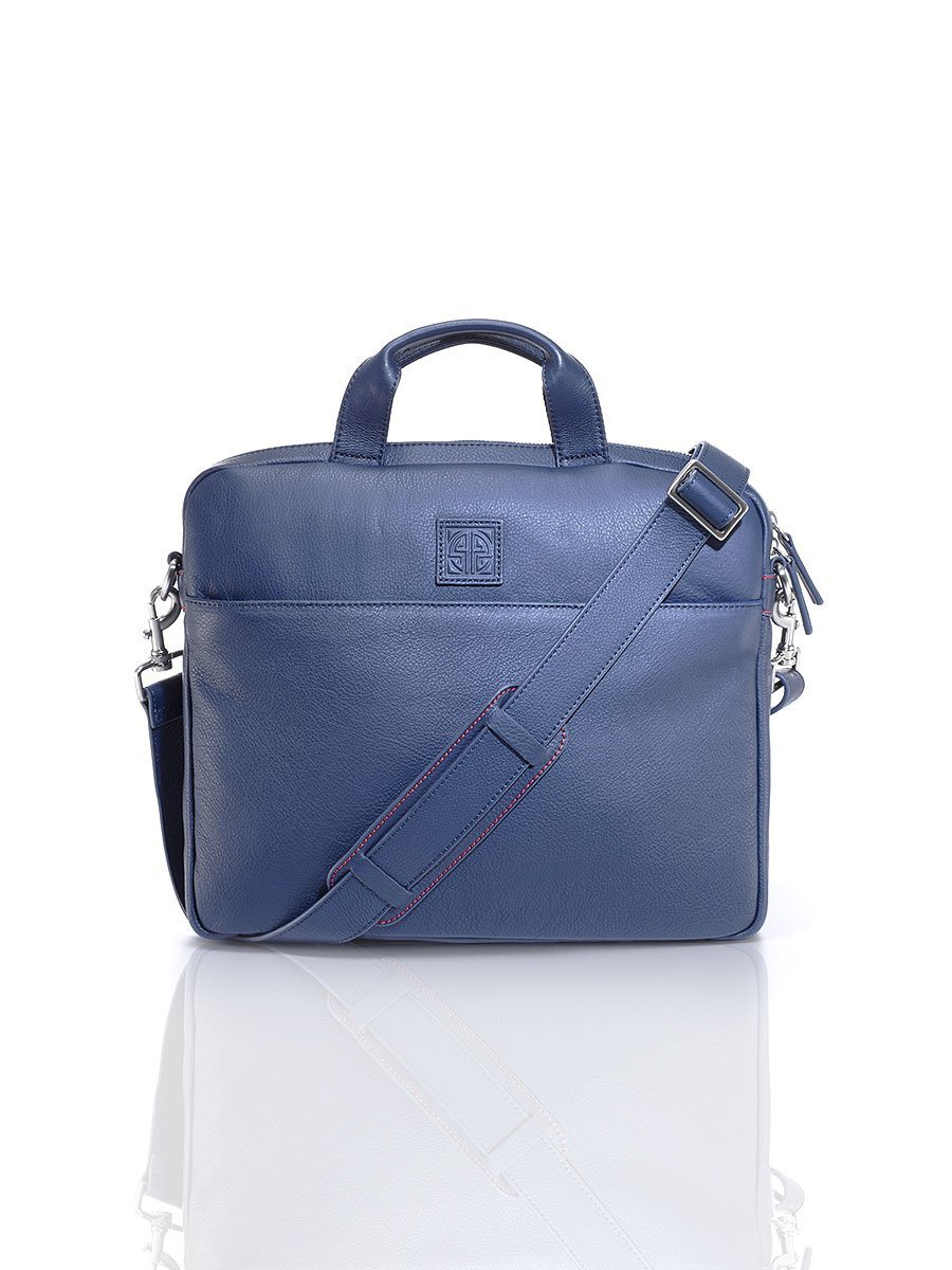 New Pebble Leather Briefcase