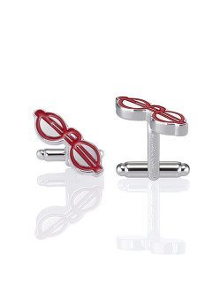Puyi Glasses Cufflinks