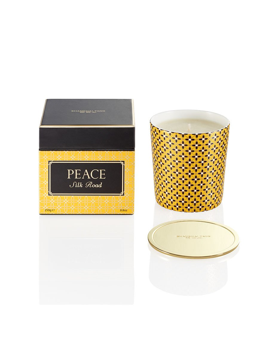 Silk Road Peace Candle with Lid