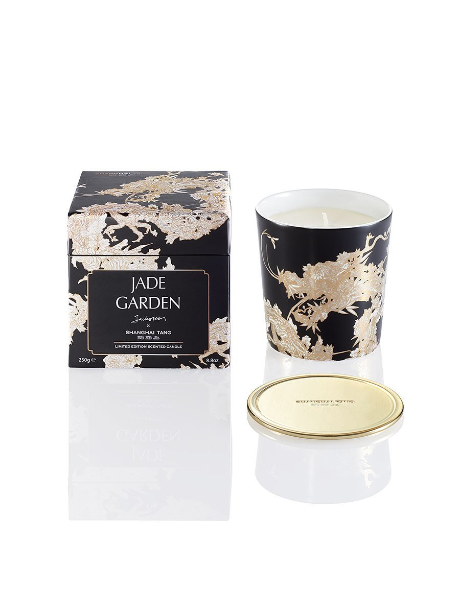 Scented bone china candles