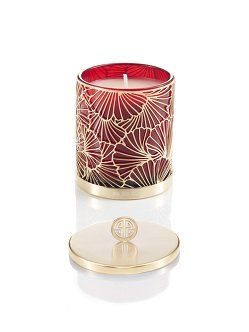 Ginkgo Ginger Flower Scented Deco Candle with Lid