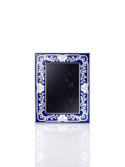 4R Porcelain Enamel Photo Frame