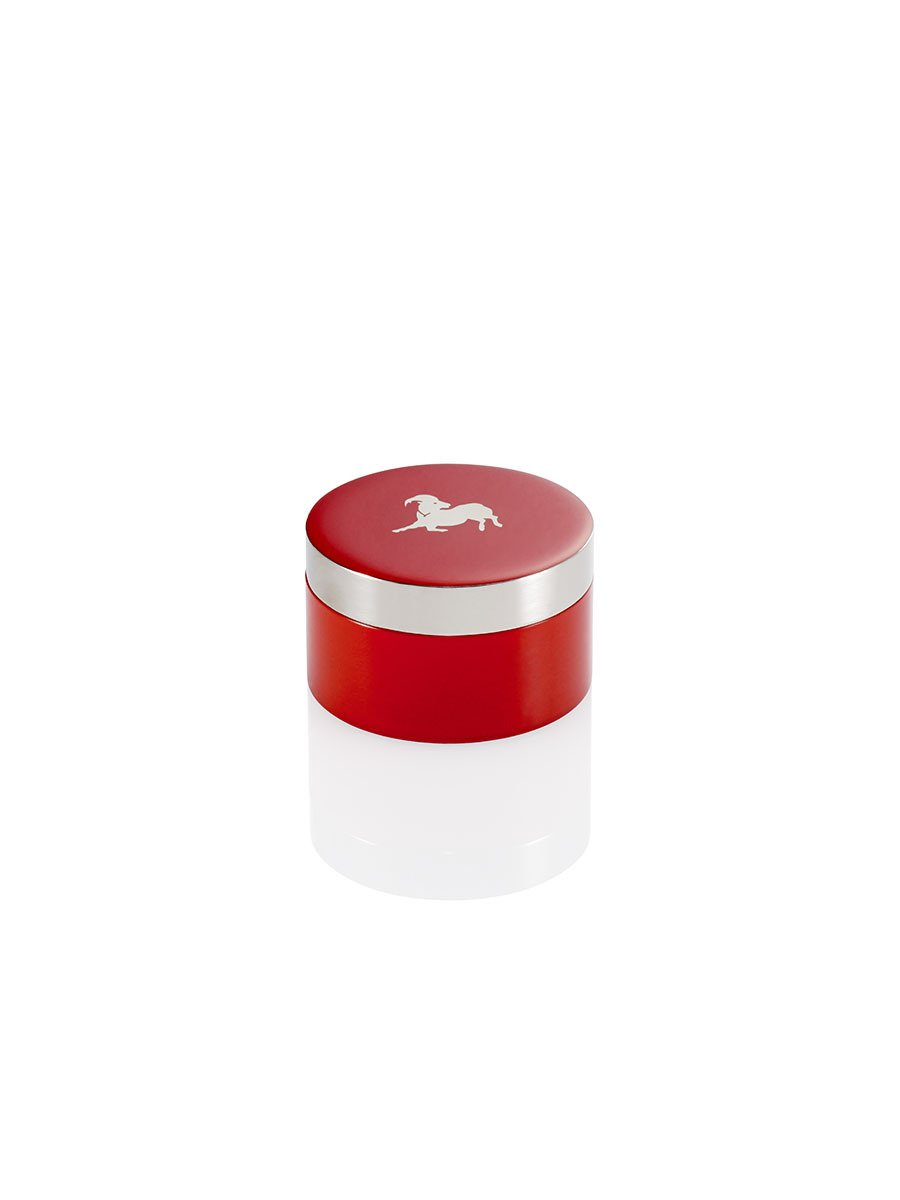 Goat Zodiac Small Enamel Box