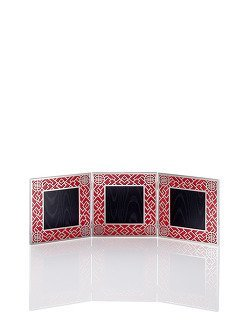 Lattice Triple Photo Frame