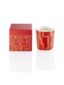 Red Tea Candle