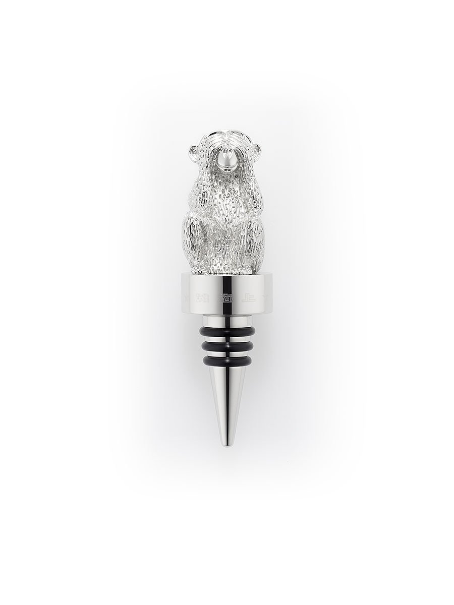 Monkey See No Evil Wine Stopper